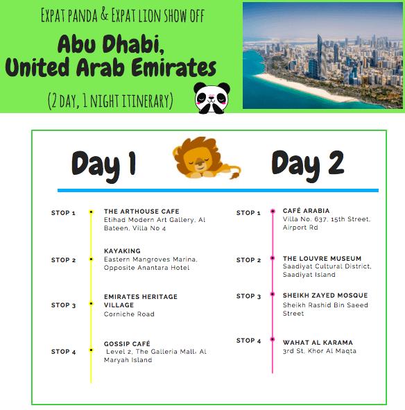 Abu Dhabi where to go