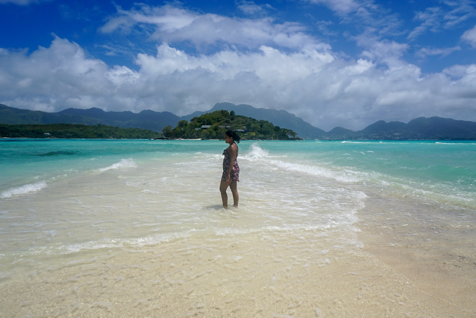 water colour in seychelles